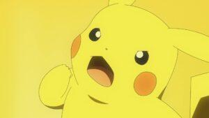 Episodio 77 Viajes Pokémon Pikachu está determinado a ganar