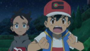 Episodio 78 Viajes Pokémon Ash enfadado con Yabashi