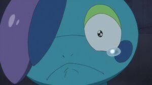 Episodio 78 Viajes Pokémon Drizzile llora recordando todo lo bueno vivido con Goh