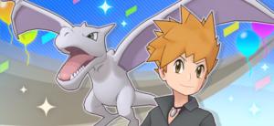 ¡Rojo y Snorlax en Pokémon Masters EX! Azul y Aerodactyl