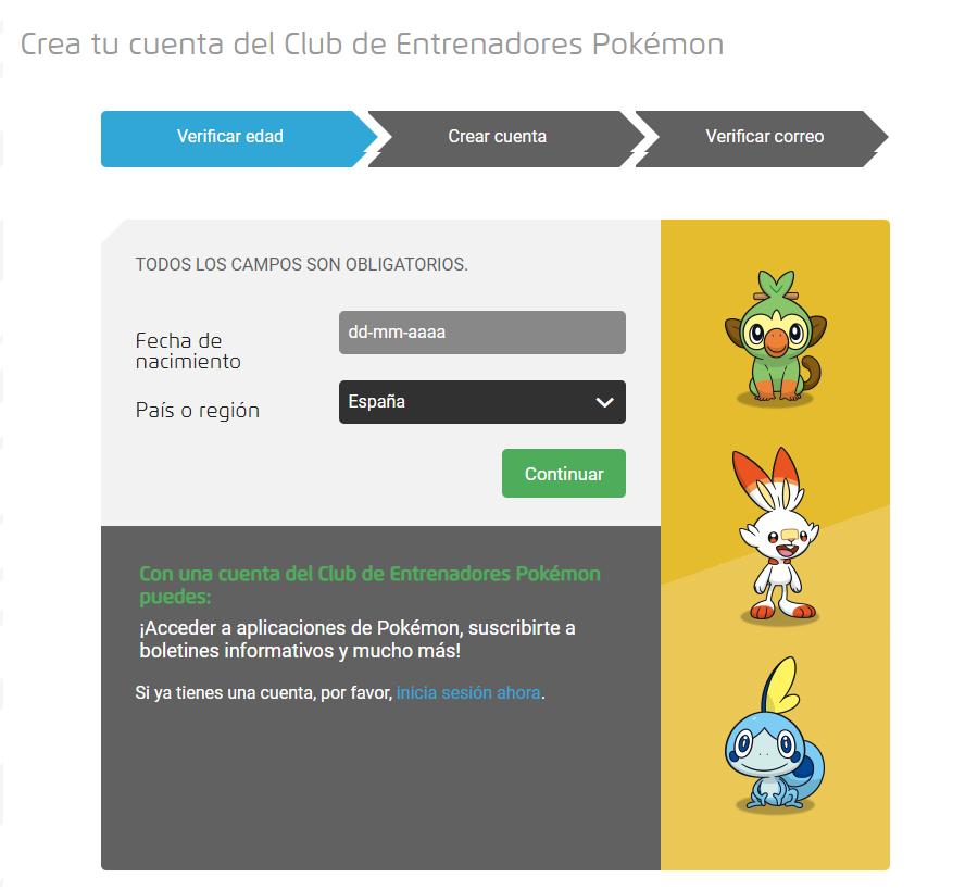 Pokémon: Los secretos de la selva en Netflix Registro en el Club de entrenadores Pokémon