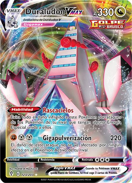 Duraludon VMAX Espada y Escudo-Cielos Evolutivos (JCC)