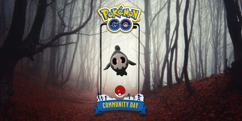 Pokémon GO: ¡Oshawott en el Día de la Comunidad! Duskull
