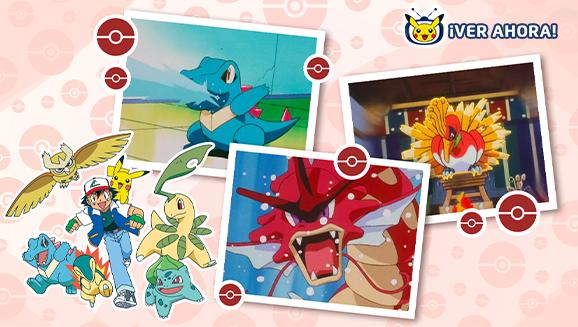 TV Pokémon: ¡Ash y Pikachu en Johto!