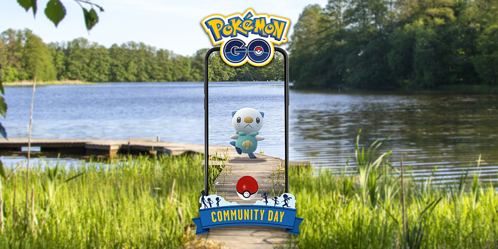 Pokémon GO: ¡Oshawott en el Día de la Comunidad!