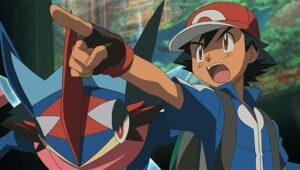 TV Pokémon: Volcanion y la maravilla mecánica Ash y Greninja Ash