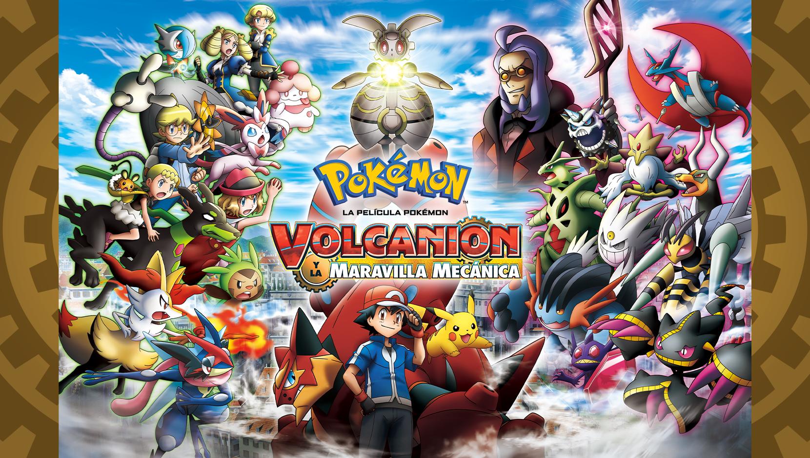 TV Pokémon: Volcanion y la maravilla mecánica