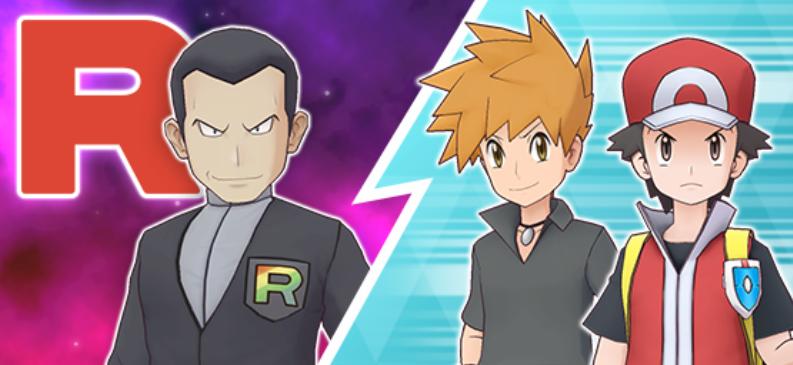 ¡Rojo y Snorlax en Pokémon Masters EX! Giovanni, Azul y Rojo