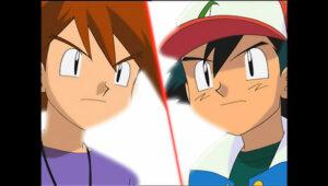 TV Pokémon: ¡Ash y Pikachu en Johto! Gary Oak contra Ash Ketchum en la Liga Johto