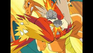 TV Pokémon: ¡Ash y Pikachu en Johto! Blaziken y Charizard