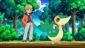 TV Pokémon Trip y Snivy