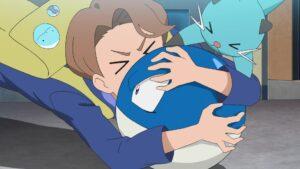 Episodio 81 Viajes Pokémon Abel Dewott Voltorb variocolor (azul) de Goh