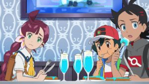 Episodio 81 Viajes Pokémon Chloe Ash Goh Helados Pokémon